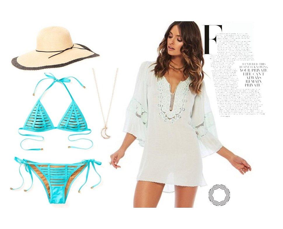 Тенденции в пляжной моде 2017